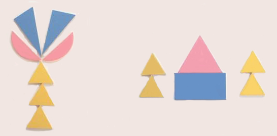 基本图形拼板—三片图片